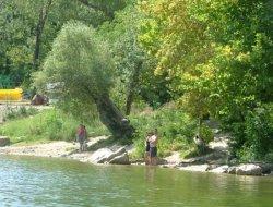 Camping au calme en Ardèche.