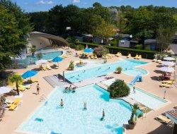 Mobilhomes avec piscine chauffée dans les Landes