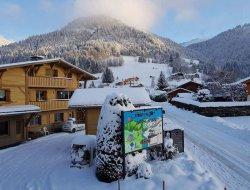 camping caravaneige espace diamant dans les Alpes