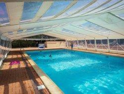 camping avec piscine chauffée près du Puy du Fou