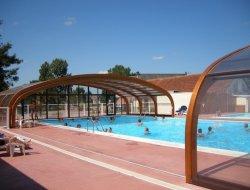 mobilhomes avec piscine chauffée dans le Calvados.