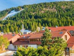 Village de vacances dans le Jura.