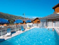 Location avec piscine chauffée à Valmeinier.