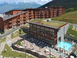 Residence de vacances avec piscines chauffées Les Arcs 1800
