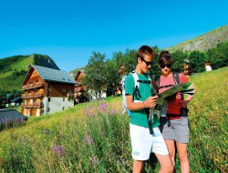 Vacances à St Sorlin d'Arves en Savoie.