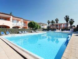Residence de vacances près de St Tropez, Côte d'Azur.