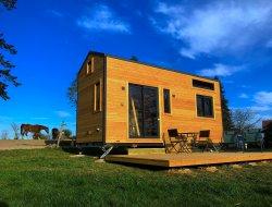 Séjour insolite en tiny house en Auvergne