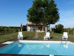 Holiday rental near Bergerac, Dordogne near Les Lèves et Thoumeyragues
