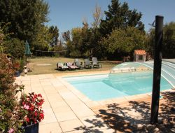 Holiday cottages, Chateaux Cathares, Aude near Montmaur