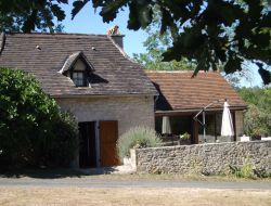Self-catering gite in Lot, Midi Pyrenees. near Reyrevignes
