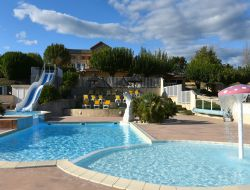 Holiday village in Ardeche near Laurac en Vivarais