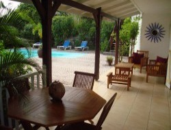 Self-catering house in Guadeloupe