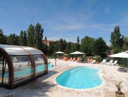Holiday village in Aveyron, South of France. near Saint Affrique