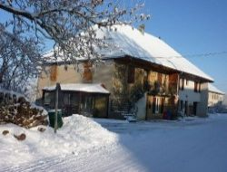 Self-catering gite in Jura. near Bief des Maisons