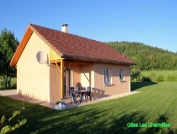 Holiday cottages in the Jura.