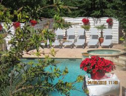 Self-catering cottage on the French riviera near Valbonne