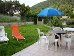 Self-catering studio in northern Corsica near Sisco