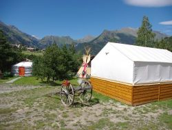 Unusual holidays in Yurts and Tipis.