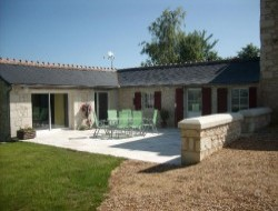Holiday cottage near Chinon.