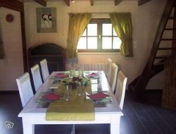Holiday cottage close to lake Chambon