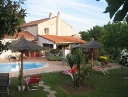 B & B with pool in Charente Maritime. near Chatelaillon Plage