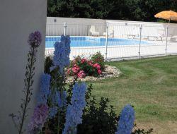 Gite avec piscine en Charente Maritime.
