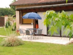 Self-catering gite close to Bourg en Bresse.