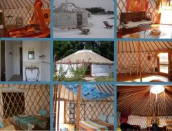 Unusual stay in Yurt in Charente Maritime