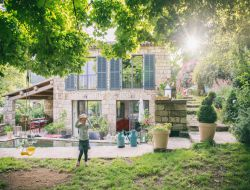 B & B in Ardeche near Vogue