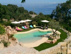 Holiday home with pool in south Corsica near Eccica Suarella