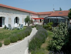 Accommodation for a group in Charente Maritime. near Gémozac