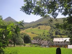 Rural accommodation in the Cantal, Auvergne.