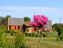 Ecological holiday village in Dordogne. near Saint Felix de Bourdeilles