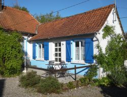 Holiday cottage close to Abbeville in Picardy.