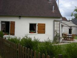 Holiday cottage close to Chatellerault in France.