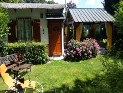 Holiday home in Sologne in France near La Ferte Saint Cyr