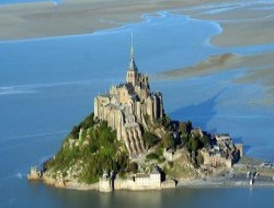 Cottage close to the mont Saint Michel in France.