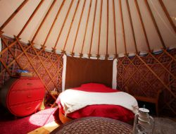 Holidays in Yurt in Normandy. near Saint Sever Calvados