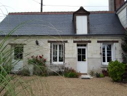 Holiday cottage close to Tours in France.