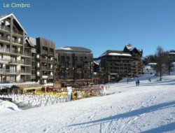 Holiday rental in alps ski resort.
