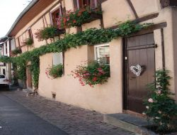 Self-catering apartment in Riquewihr in Alsace.