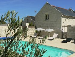B & B close to Saumur in France.
