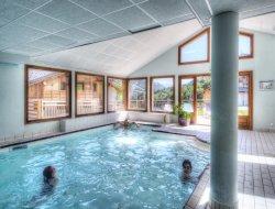 Résidence de tourisme a Flumet en Savoie.