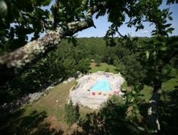 Holiday rental for group in Ardeche near Saint Maurice d'Ibie