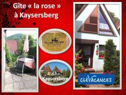 Gite a louer en Alsace