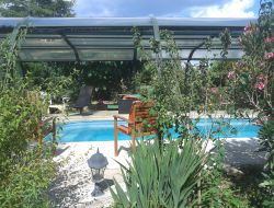 Holiday home with swimming pool in the Gard.