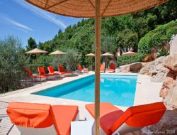 Holiday house in Grasse on the French Riviera. near Valbonne