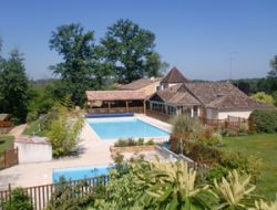 Holiday village in the Lot et Garonne, Aquitaine. near Saint Front sur Lémance