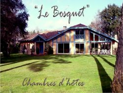 Guest rooms in the Landes