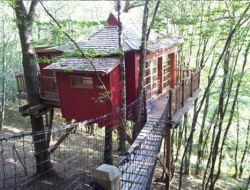 Treehouses rental in Dordogne near Sorges